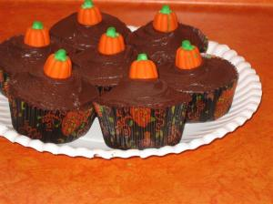 Tired of pumpkin cupcakes yet?